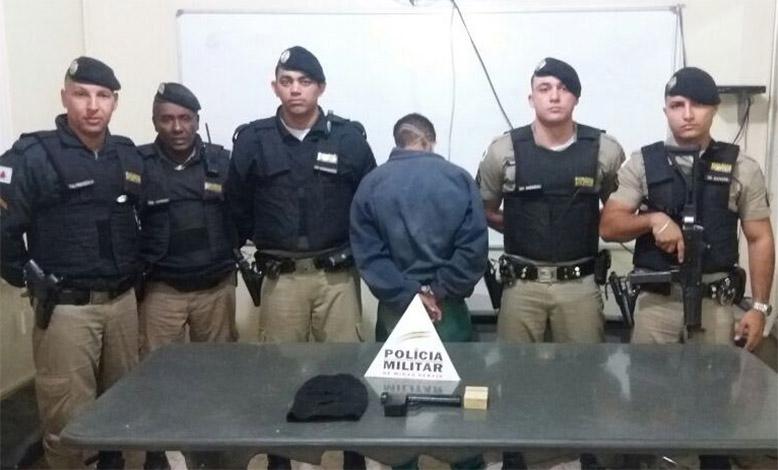 Homem é preso e menor apreendido durante operações na região