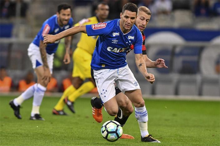 Cruzeiro completa quarto jogo sem vencer pelo Campeonato Brasileiro