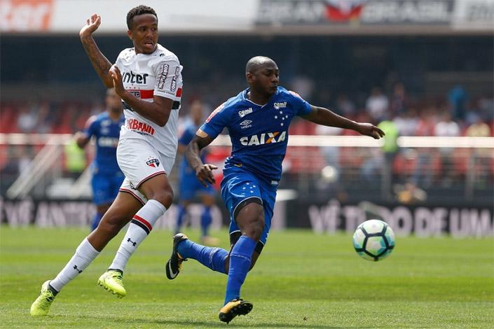 Freguês no Brasileirão, Cruzeiro mantém a escrita e perde para o São Paulo no Morumbi