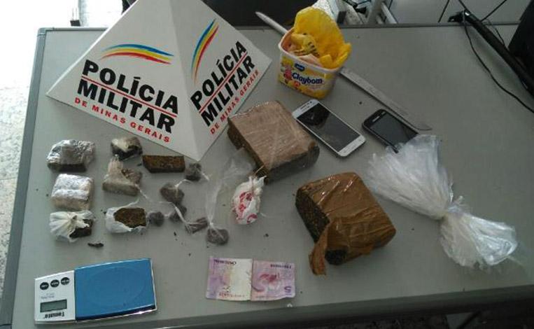 Traficantes são presos, menores e drogas apreendidos no Jardim dos Pequis