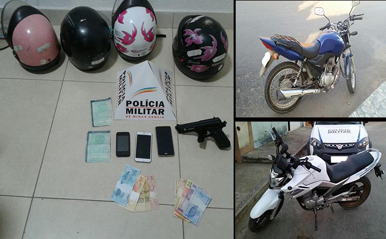 PM prende autores de tentativa de roubo e traficantes durante o fim de semana
