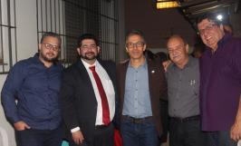 Leone Maciel participa de homenagem na Confraria do Fogão a Lenha