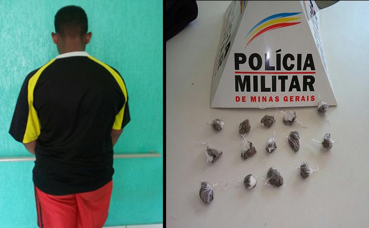 Menor é apreendido em Baldim após comprar drogas em Sete Lagoas