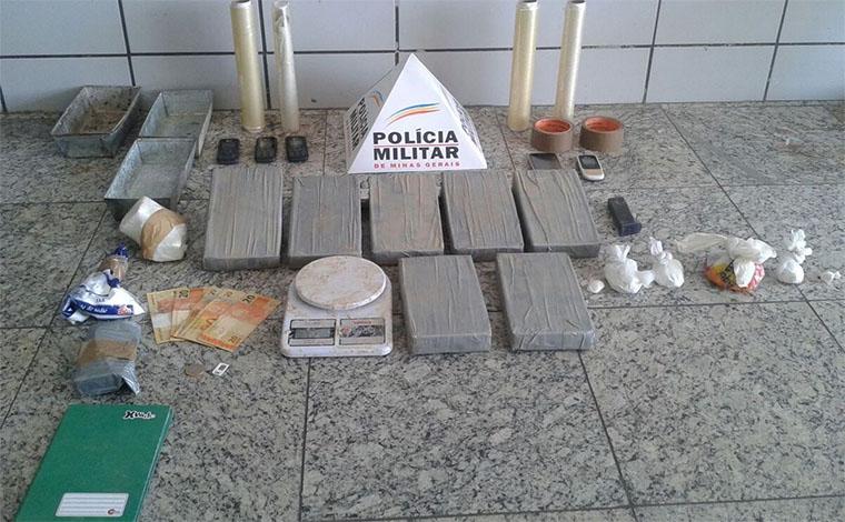 Traficantes são presos com grande quantidade de cocaína em Sete Lagoas