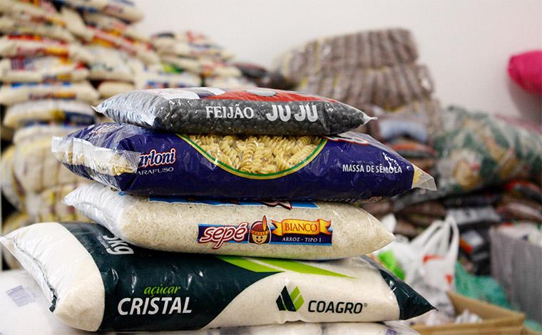 Evento arrecada 180 kg de alimentos não perecíveis para Associação Comunitária Nova Vida