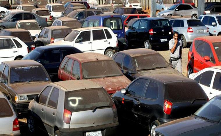 Detran-MG promove leilão de veículos e sucatas nesta quinta-feira