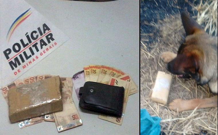 Giro Policial - PM prende traficante com ajuda de cães farejadores em Inhaúma