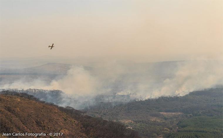 Incêndio na serra é controlado, mas prejuízos ainda são calculados