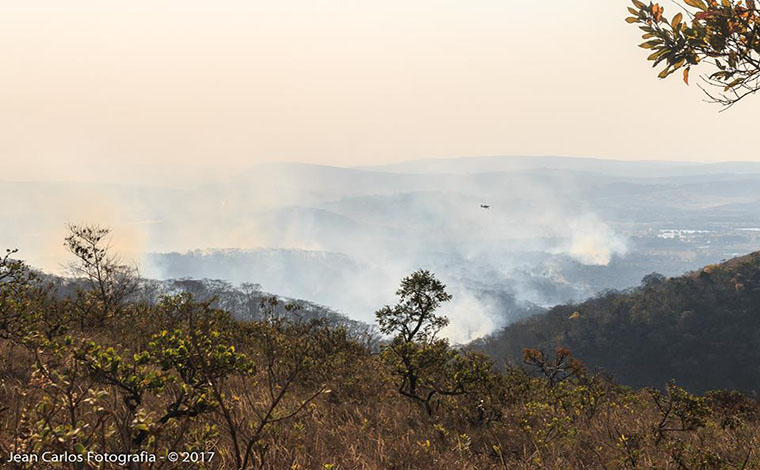 Secretário de Meio Ambiente revela ocorrência de incêndios criminosos