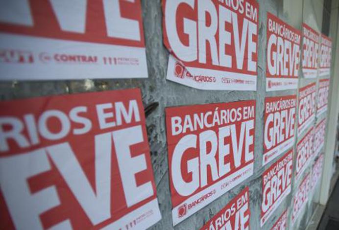 Sem acordo, bancários mantêm greve em todo o Brasil