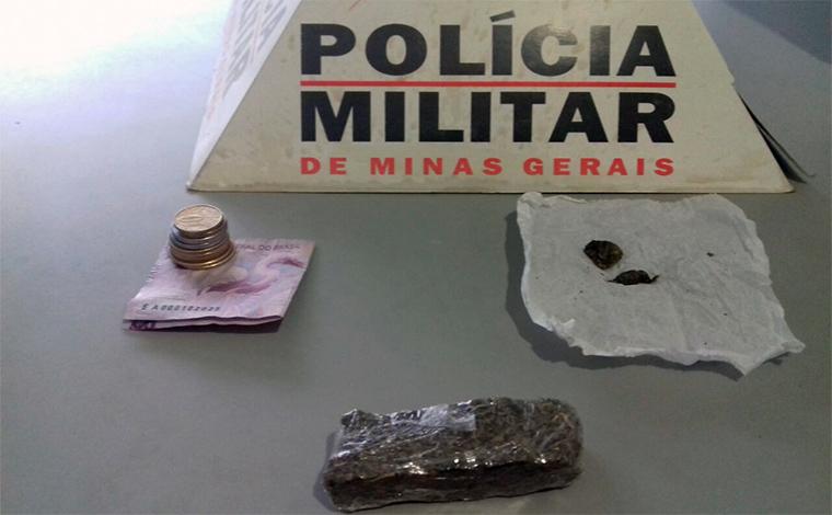 Traficantes são presos com tablete de maconha na orla da Lagoa Boa Vista