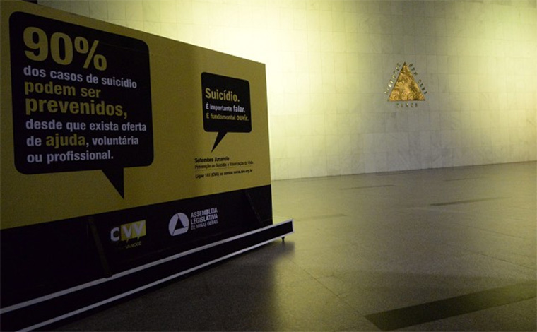 Prevenção ao suicídio será tema de debate na ALMG nesta segunda-feira