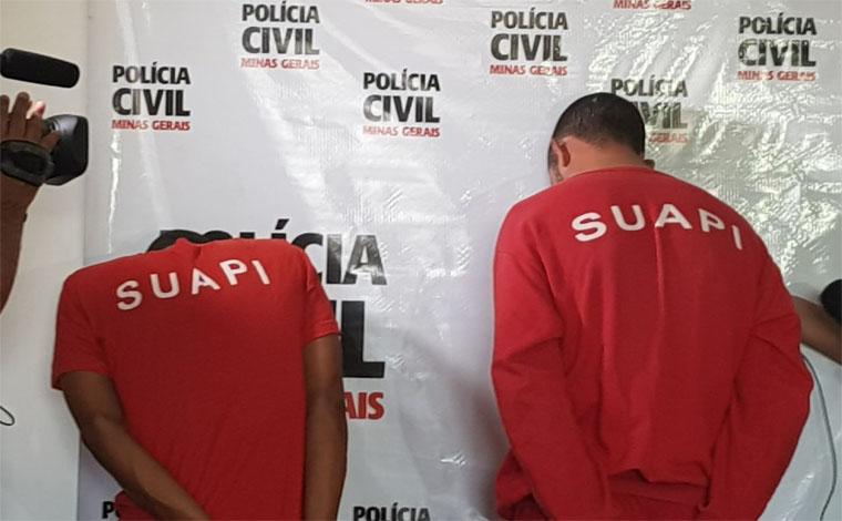 Polícia Civil apresenta suspeitos de torturar morador de rua em Vespasiano
