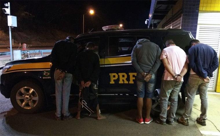 Criminosos especializados em roubo de cargas são presos na BR 040