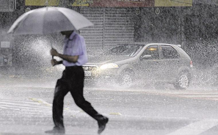 Previsão de chuva é mantida para Sete Lagoas nesta semana