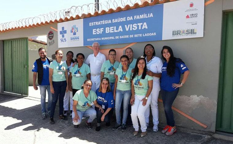 UBSs de Sete Lagoas recebem avaliação do Ministério da Saúde