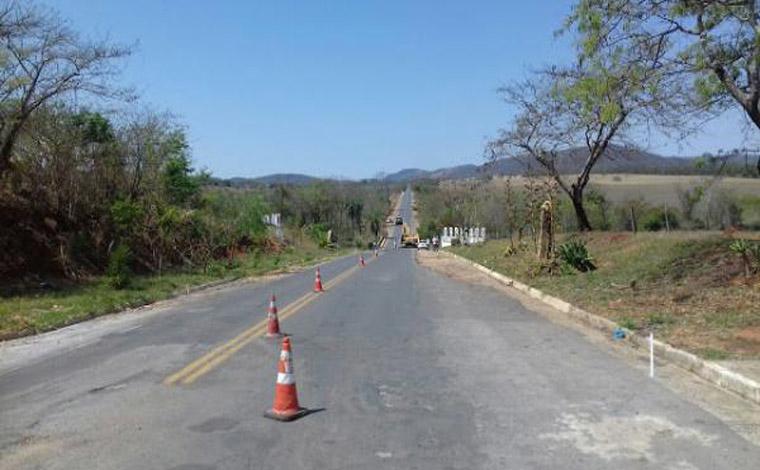 DEER inicia obras de readequação em rodovias da região