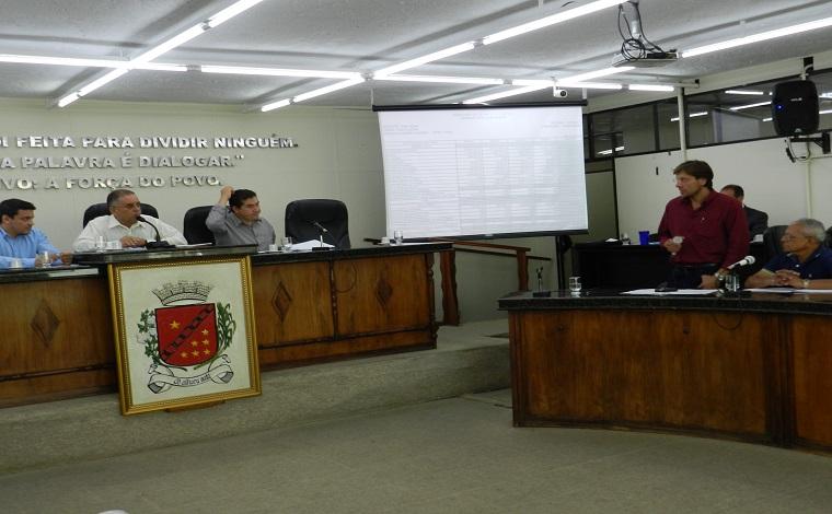 Câmara suspende audiência pública sobre prestação de contas do Executivo