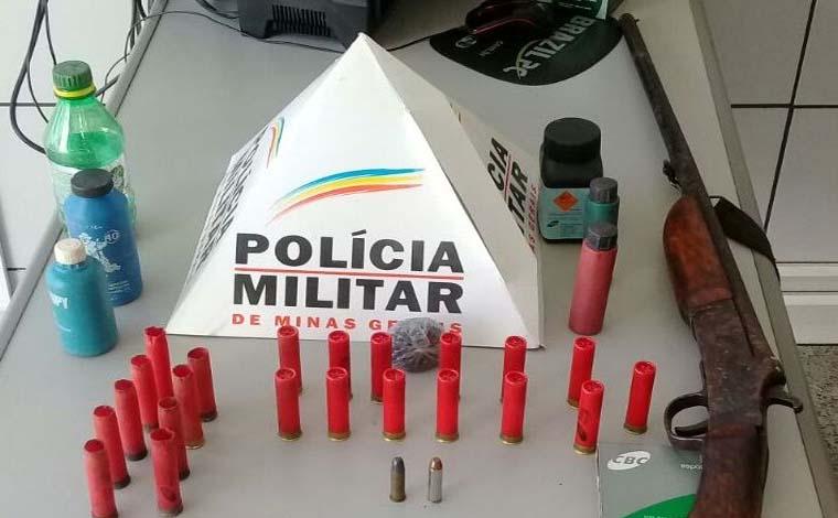 Giro Policial – Autores são presos por porte ilegal de armas e drogas