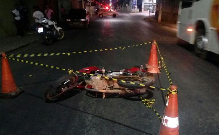 Idosa é atropelada por motociclista no Braz Filizola