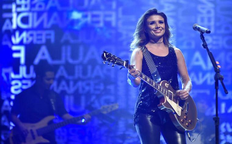Paula Fernandes tocará inéditas e sucessos em show em prol da Apae