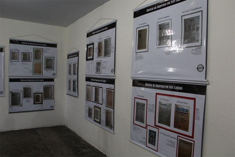 Câmara reúne registros sobre a história da imprensa em Sete Lagoas