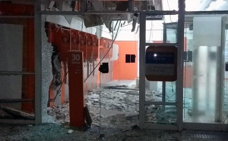 PM prende suspeitos de explodir agência do Itaú em Pedro Leopoldo