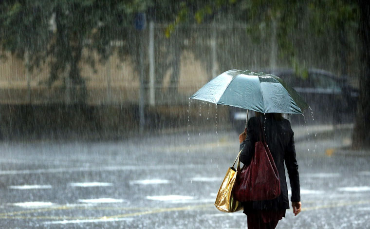 Semana começa chuvosa e com temperatura em queda em Sete Lagoas