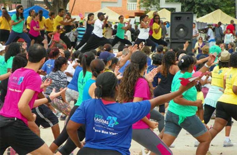 Parque Náutico da Boa Vista terá aulão do Saúde em Movimento neste sábado