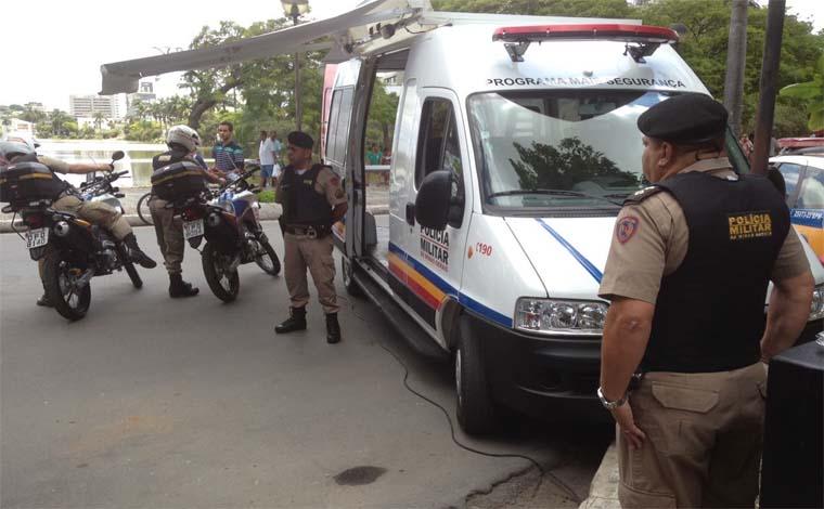 Em cerimônia no CAT, Sete Lagoas recebe base móvel da Polícia Militar
