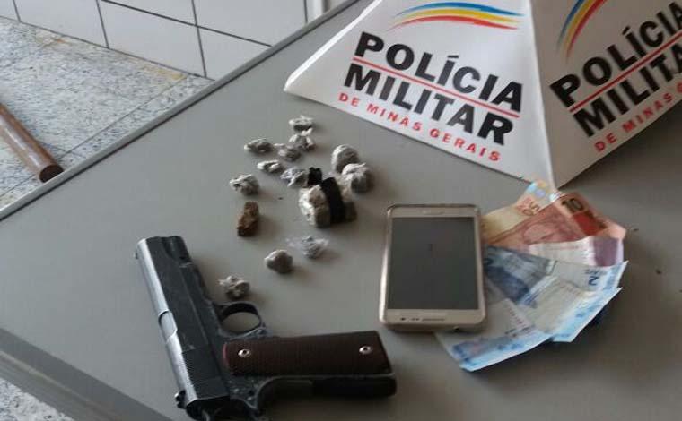 Casal de traficantes é preso pela PM no Bairro Planalto