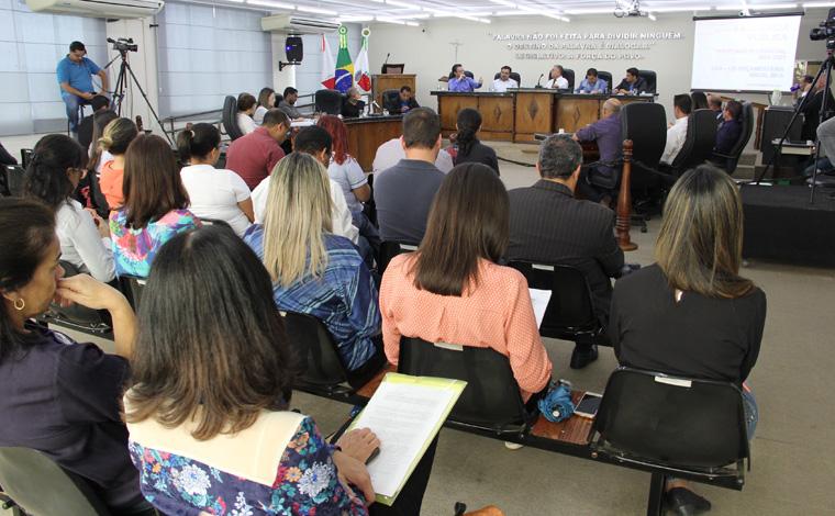 Secretarias do Executivo apresentam metas do PPA em Audiência Pública
