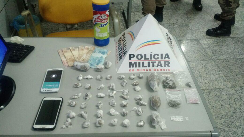 Giro Policial – PM prende traficantes em Sete Lagoas durante o fim de semana