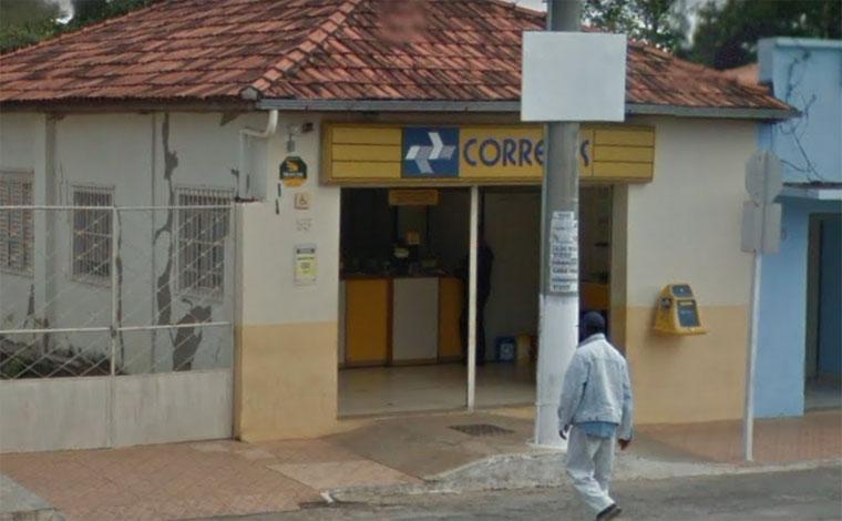 Agência dos Correios é assaltada em Caetanópolis