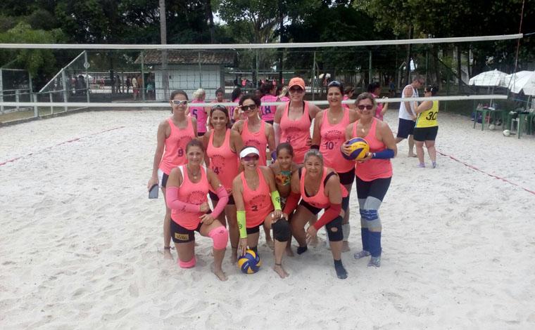 Equipe master de Sete Lagoas comemora feito inusitado no vôlei de praia