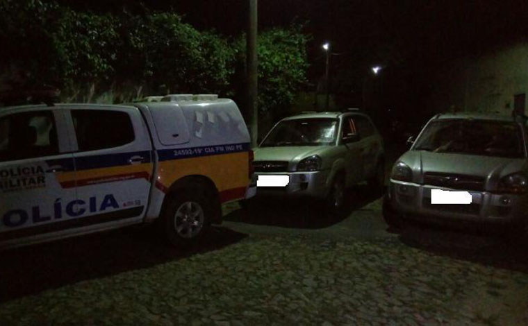 PM recupera veículos roubados no Santo Antônio e no Vale das Palmeiras