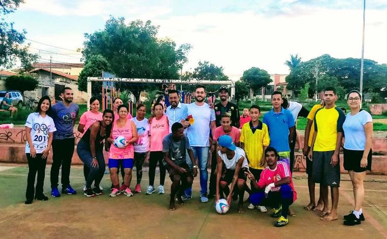 Saúde em Movimento mobiliza crianças e adolescentes com o Futsal
