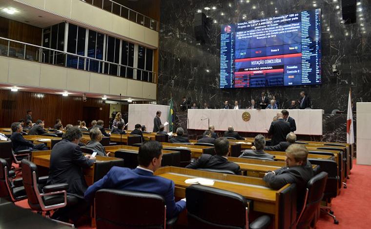 Orçamento do Estado tem déficit de R$ 8 bilhões para 2018