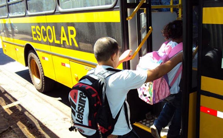 Cadastro para o transporte escolar gratuito será aberto na próxima semana