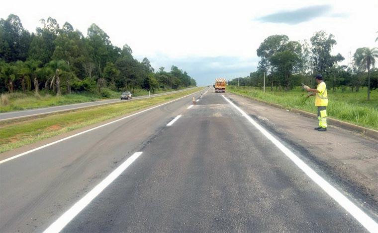 BR 040 pode ter novas interrupções devido a obras na altura de Paraopeba
