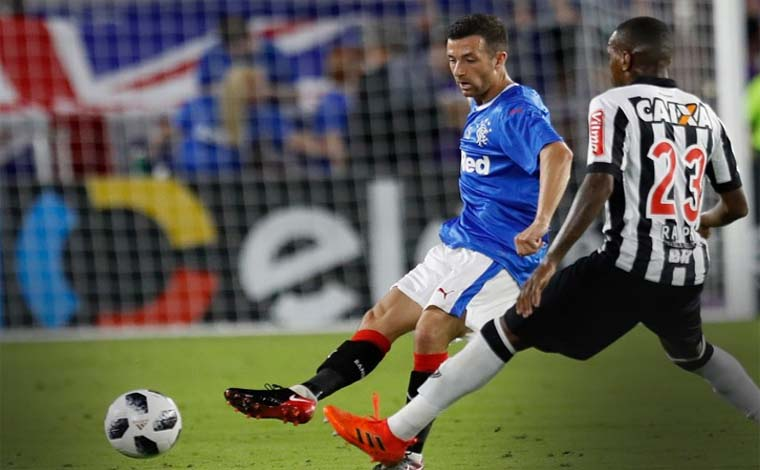 Galo inicia o ano perdendo para escoceses na estreia da Flórida Cup