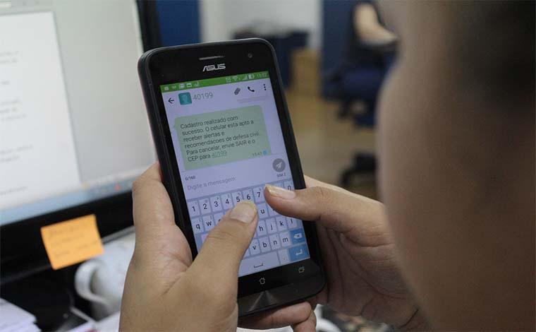 Mineiros já podem receber alertas de desastres naturais por mensagem de celular