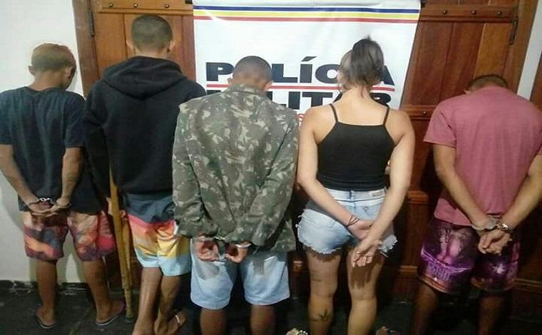 PM prende parte de quadrilha que pratica homicídios e tráfico de drogas