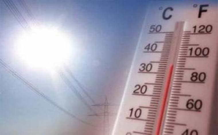 Semana terá tempo instável na maior parte do estado, com calor e temporais