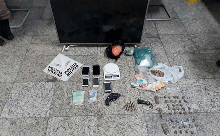 PM captura quadrilha após assalto a fazenda em Jequitibá