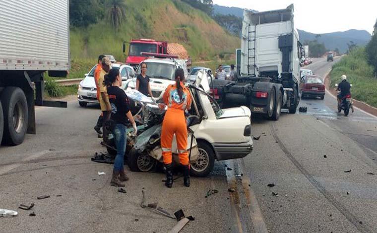 Minas registra o maior número de mortes em rodovias federais, diz PRF