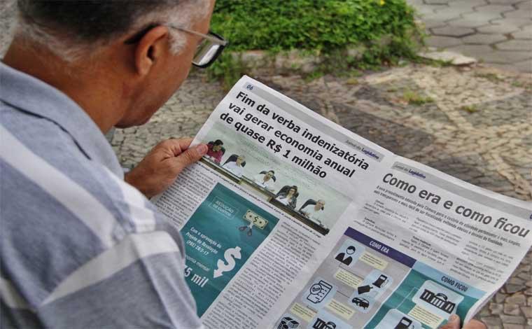 Jornal da Câmara circula em novo formato com notícias do Legislativo