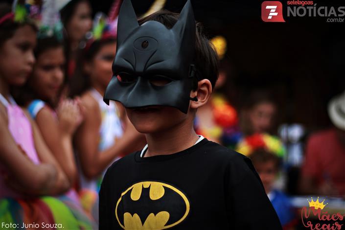 Bloco do Cercadinho fez a festa dos pequenos foliões no Pré-Carnaval