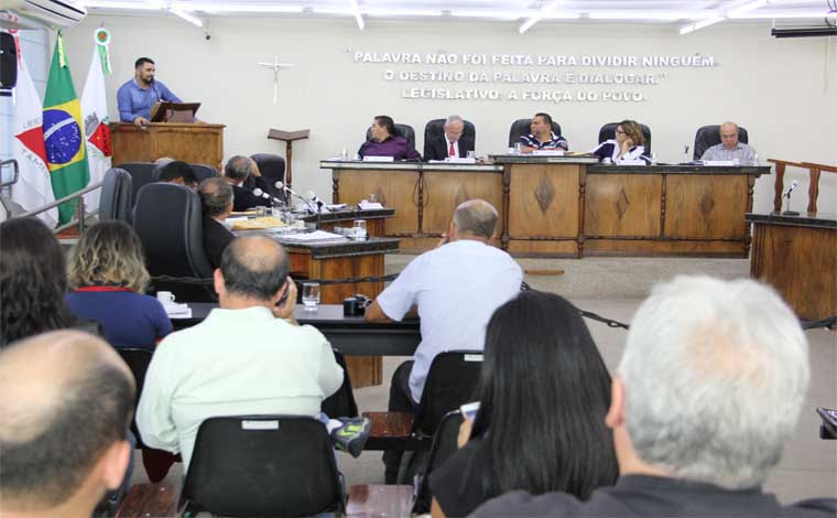 Câmara aprova projetos de interesse público na primeira reunião ordinária de 2018