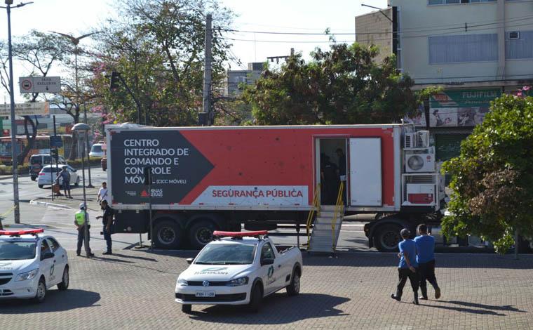 Superestrutura de segurança foi montada para o carnaval em Belo Horizonte